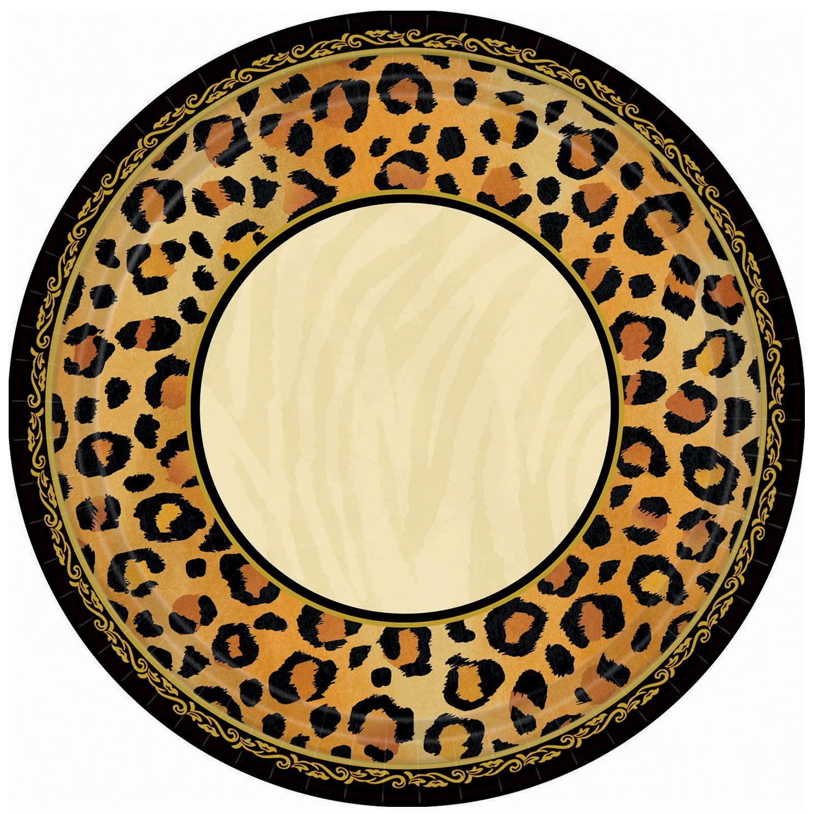 Leopard Print Dinner Plates | Migrant Resource Network