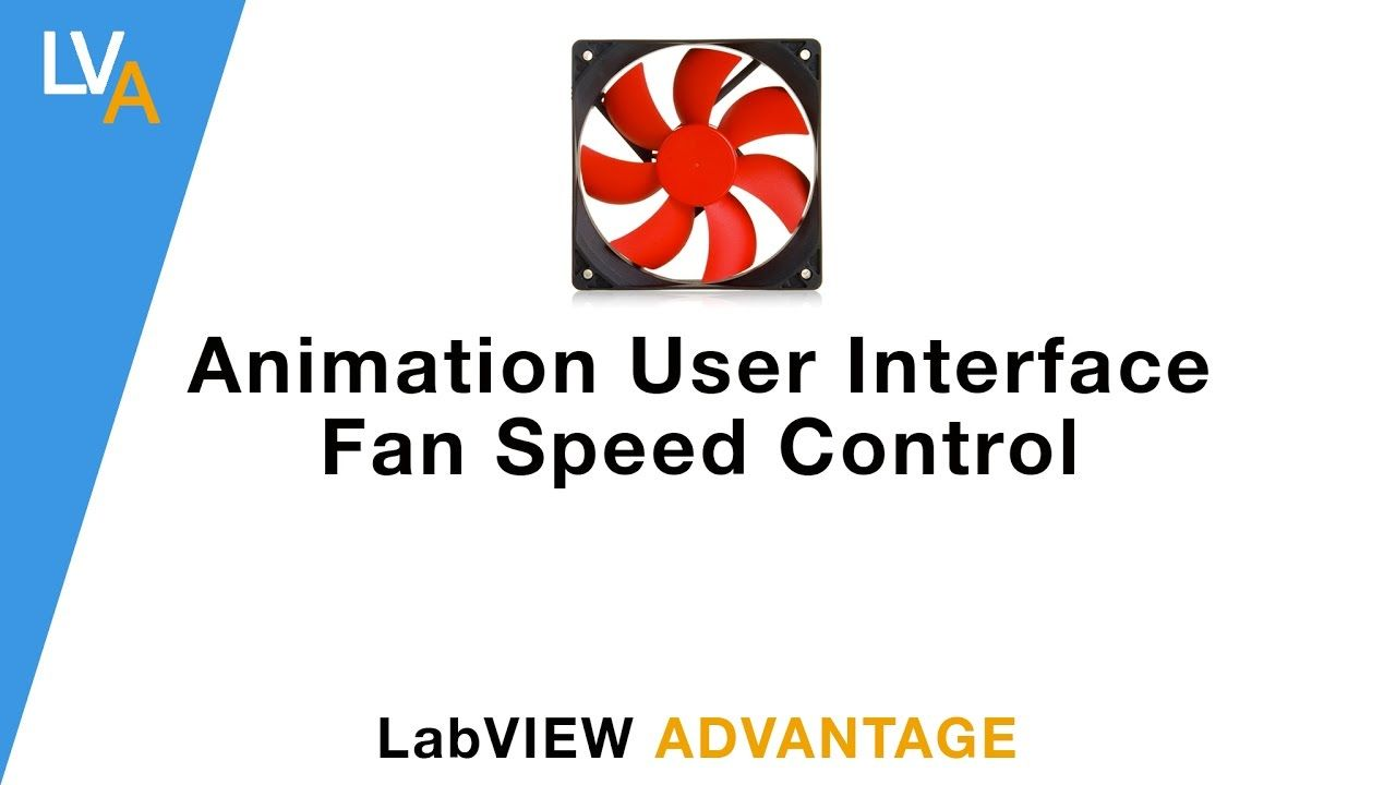 How to make Animated Fan Speed Control in LabVIEW | LabVIEW