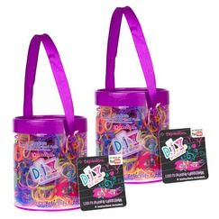 Loom Rubber Band Bracelet Refill Set Of 2400 Pieces Glitter