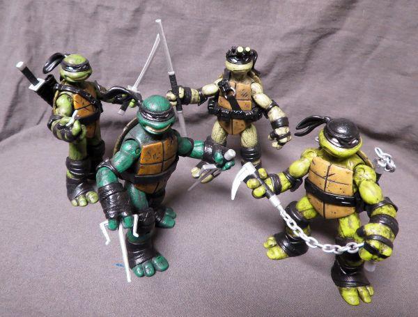 Custom Action Figure-Teenage mutant ninja turtles- stealth mode - By Dye Customs