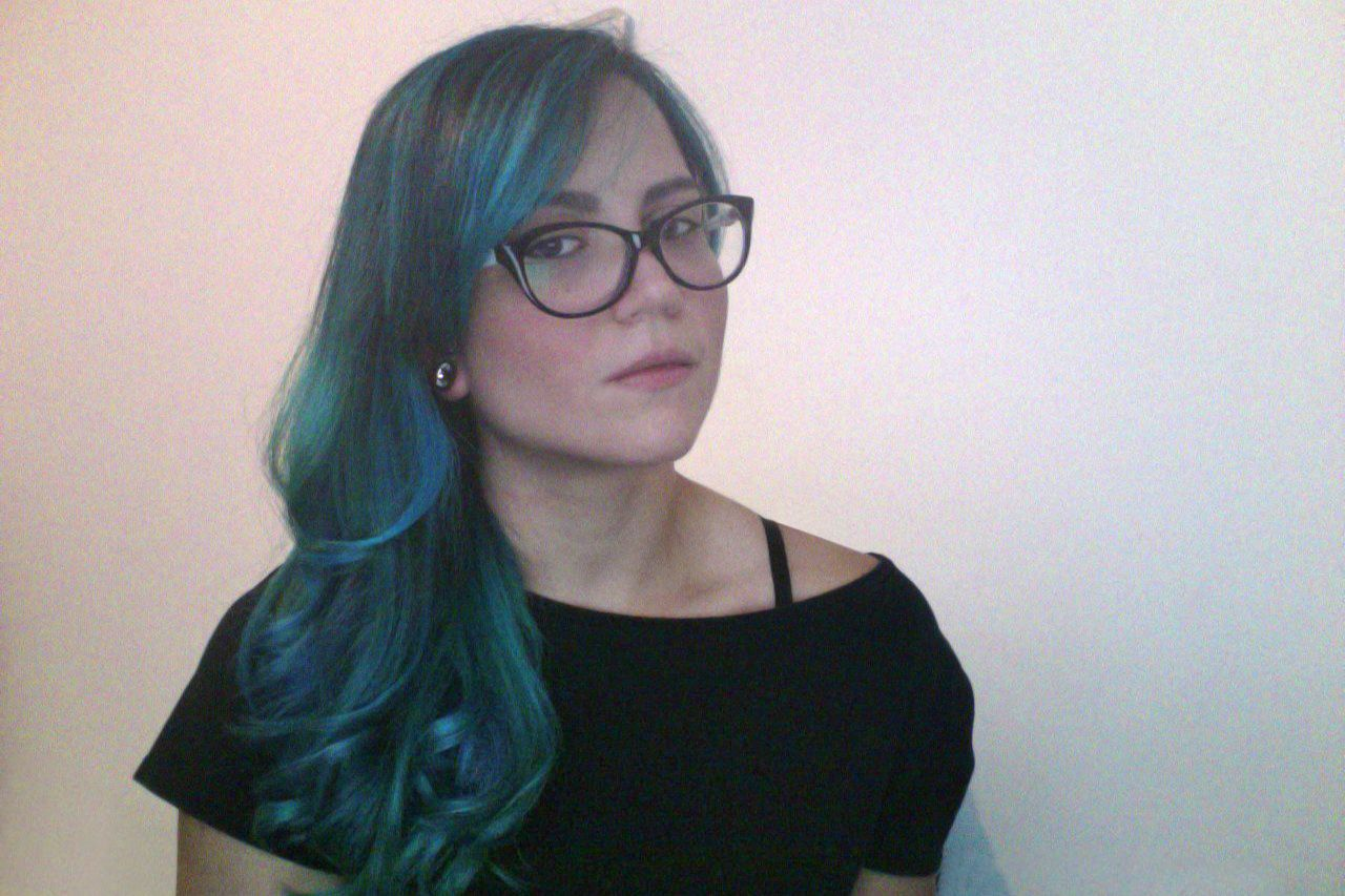me :3 #Hair #BlueHair #turquoisehair