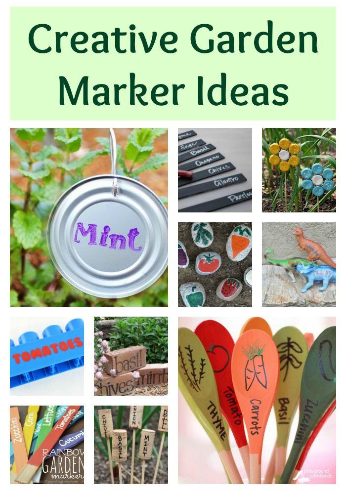 Creative Garden Marker Ideas | Garden by Building Our Story ...