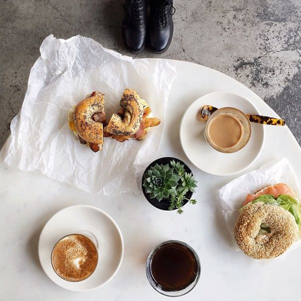 These Instagrams Prove Breakfast Is The Best Meal Of The Day #refinery29  http://www.refinery29.com/trottermag-instagram-breakfast#slide11  So many ways to dress a bagel — and none of them are wrong.