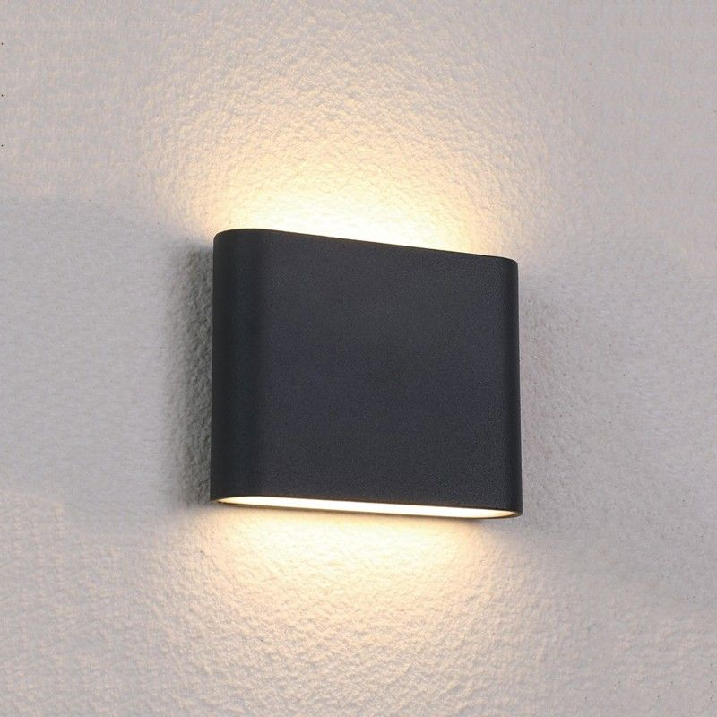 Edit Semi Led Outdoor Up Down Wall Light Black Wall Lights Up Down Wall Light Black Outdoor Wall Lights