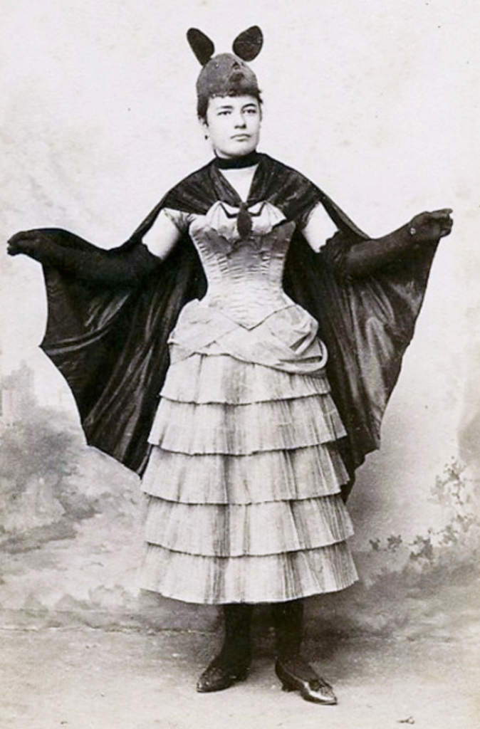 1800s Halloween Bat Costume   Love The Hat!!