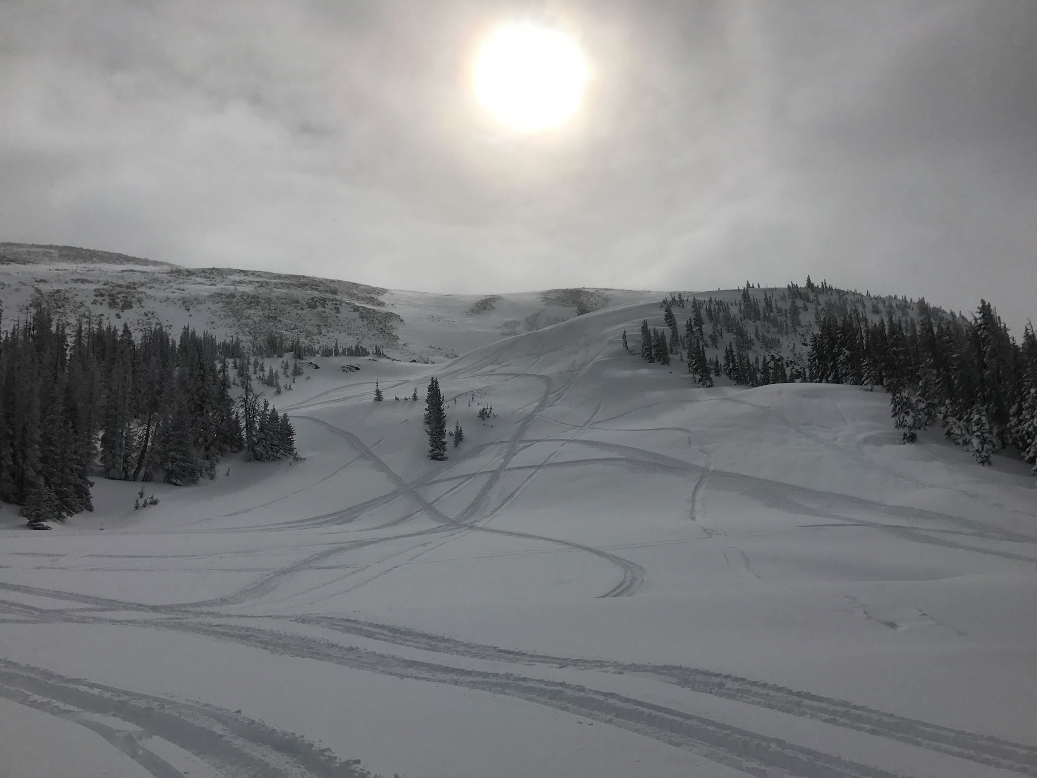 UPDATE On Missing Snowmobilers Near Laramie (With images