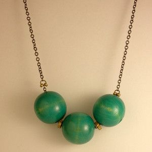 Spheres Necklace Blue, now featured on Fab.