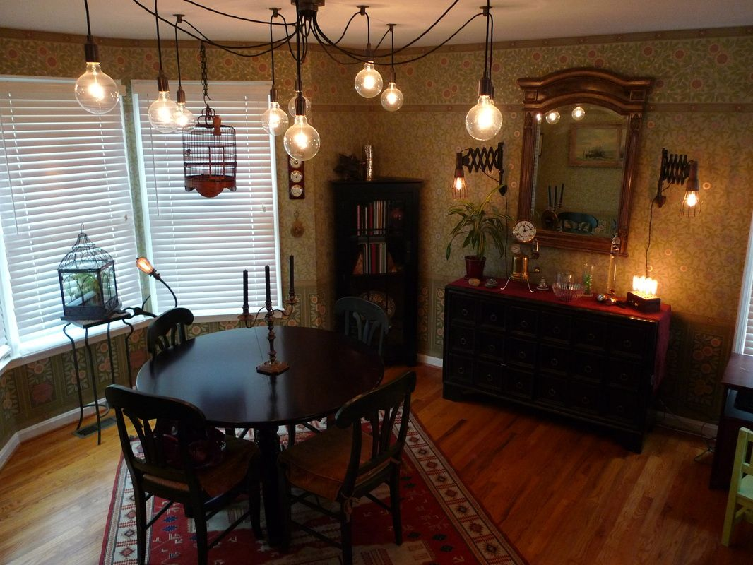 Steampunk Dining Room From
