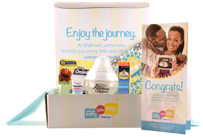 FREE Baby Samples Box from Walmart | Free Samples | Baby