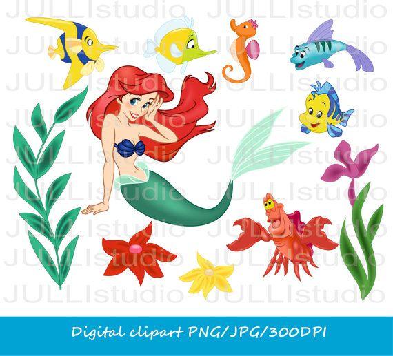 Instant download / Disney Ariel Princess / the little mermaid ...