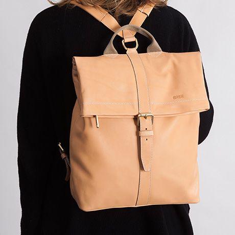 Stockholm 13 Rucksack Natur Bree Rucksack Elegant Bags Cool Backpacks