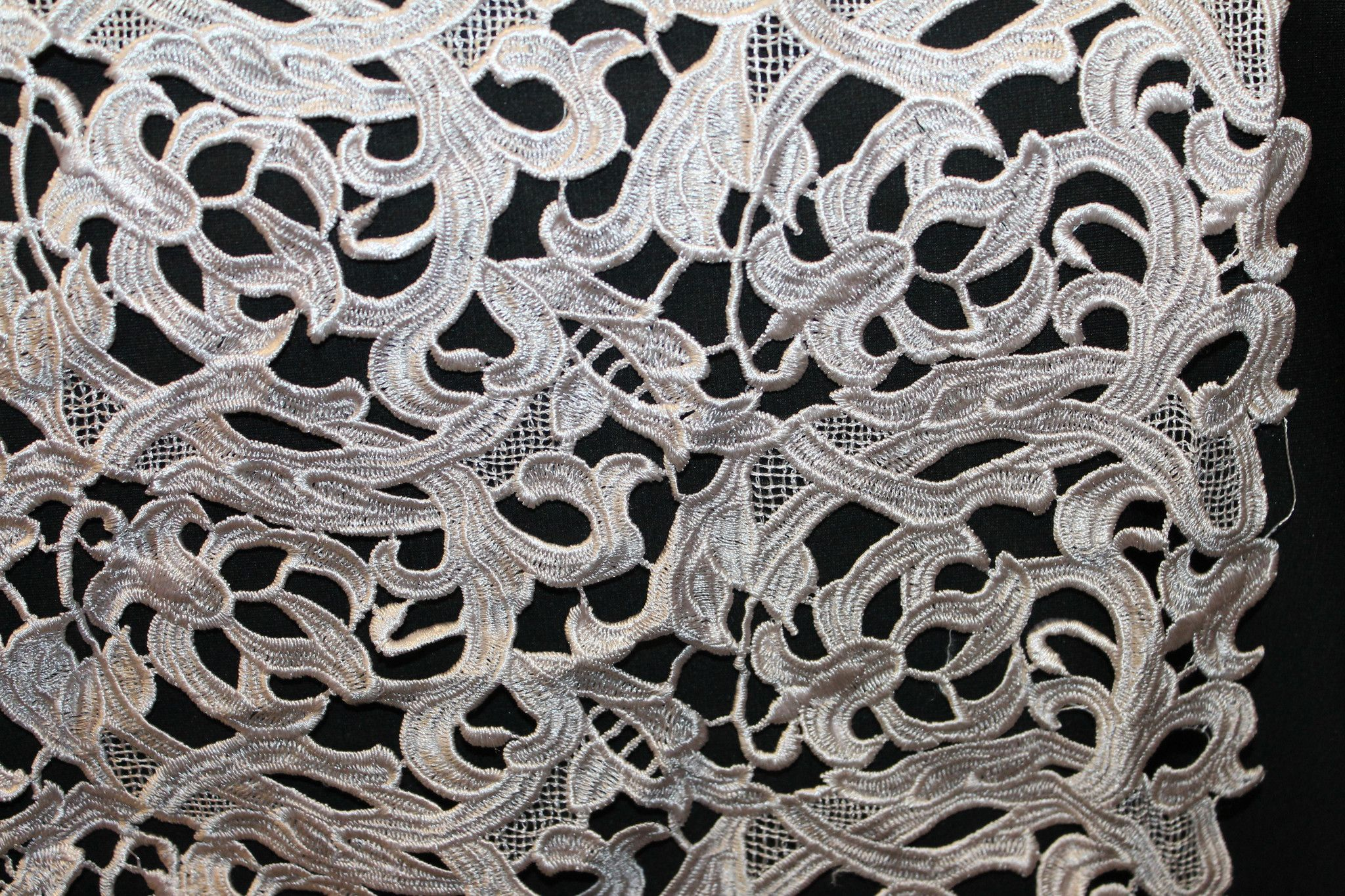 Guipure Lace Plain