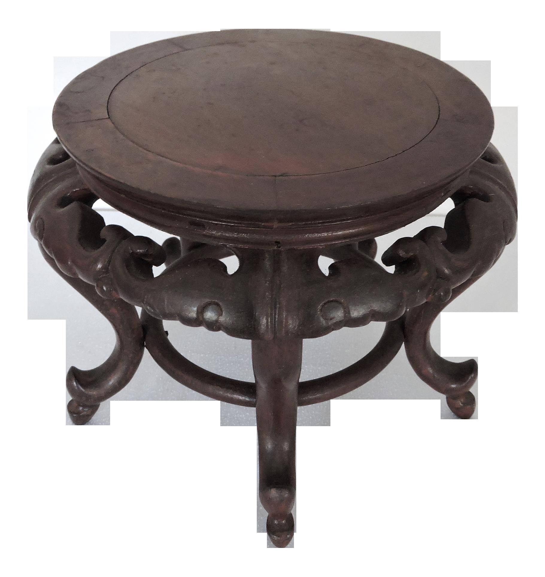 Vintage Chinese Carved Red Rosewood Bat Ornament Pedestal Or Display Stand 7 8 6 4 Carving Vintage Display Stand [ 1928 x 1821 Pixel ]