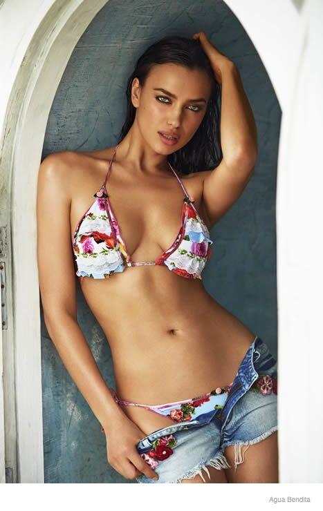 450952f1d9 Irina Shayk for Agua Bendita Swimsuits 2015 Campaign