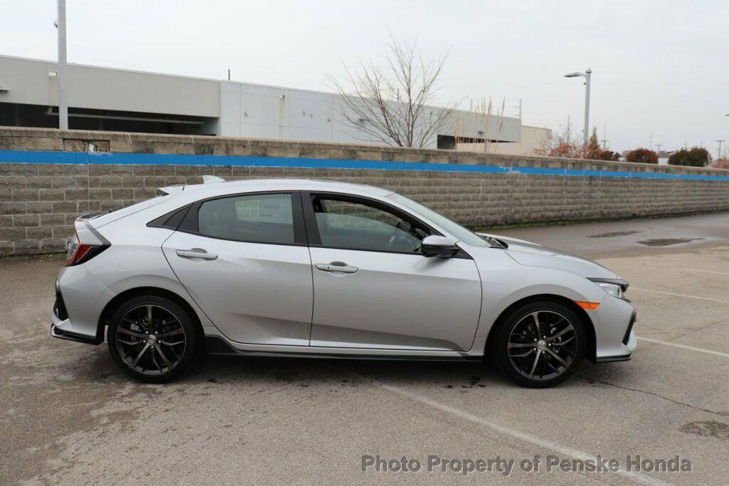 Used 2020 Honda Civic Hatchback Sport Touring CVT port