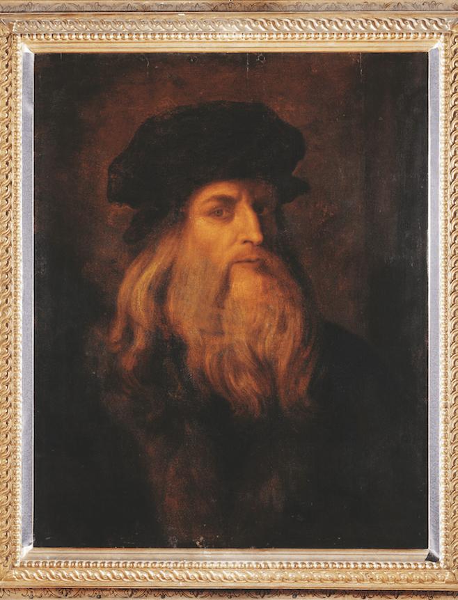 Leonardo Da Vinci Posible Autorretrato Del Artísta Galería De Los Uffizi Florencia Leonardo Da Vinci Arte Renacentista Rafael De Urbino