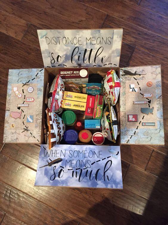 DIY Care Package für Boyfriend - #boyfriend #Care #diy #Package #presentsforboyfriend
