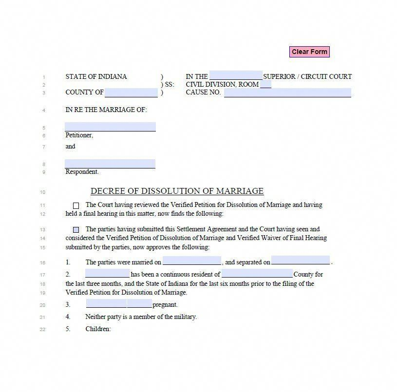 Divorce papers template 11 divorcepapers divorce papers