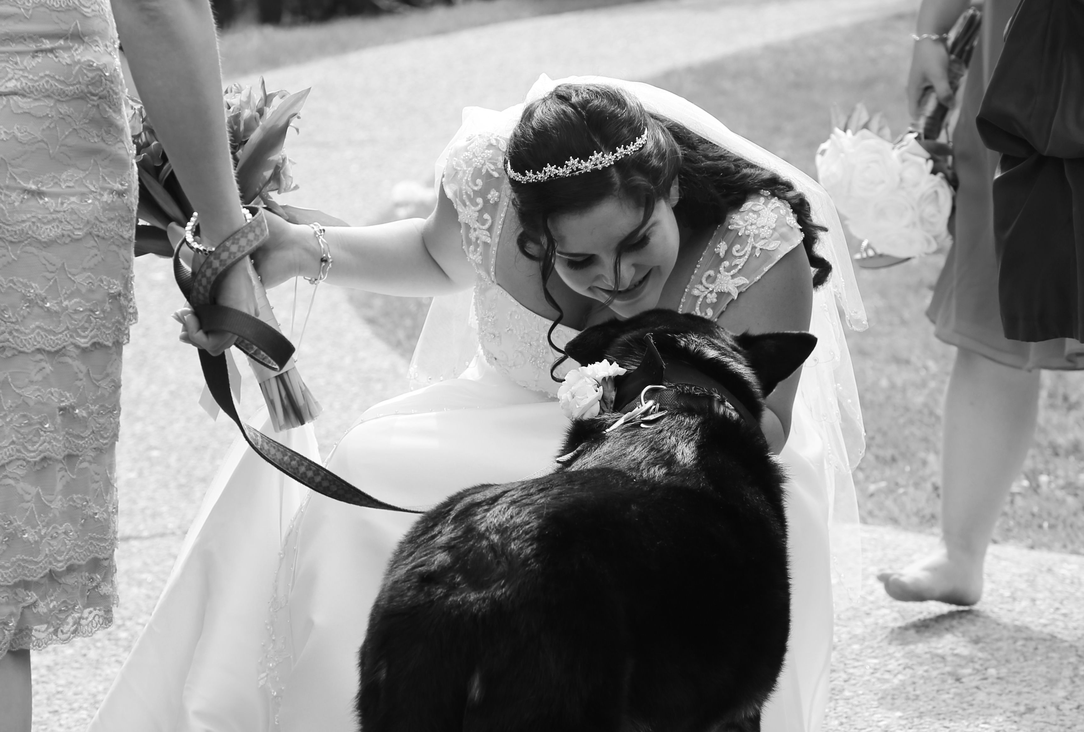 Bride and her best friend