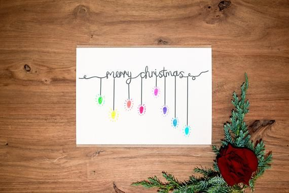 Christmas Card Pack - Hand Drawn - Christmas Cards