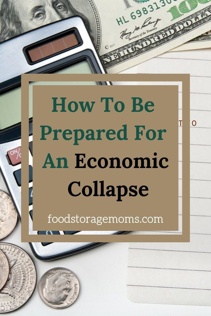 Do you know how to be prepared for an economic collapse? If there was ever a time in the history of the world we need to be ready it's today, not tomorrow. #historyoftheworld