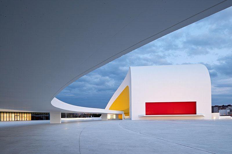 Centro Cultural Internacional Oscar Niemeyer, Avilés, Asturias, Spain - Oscar Niemeyer