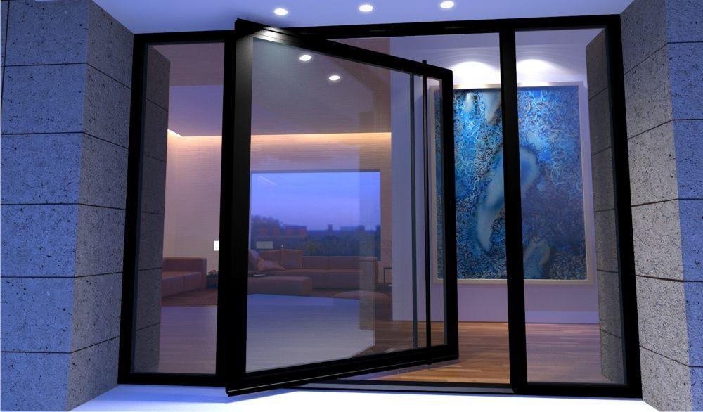 Glass Pivot Door | Puma | Pinterest | Entrada