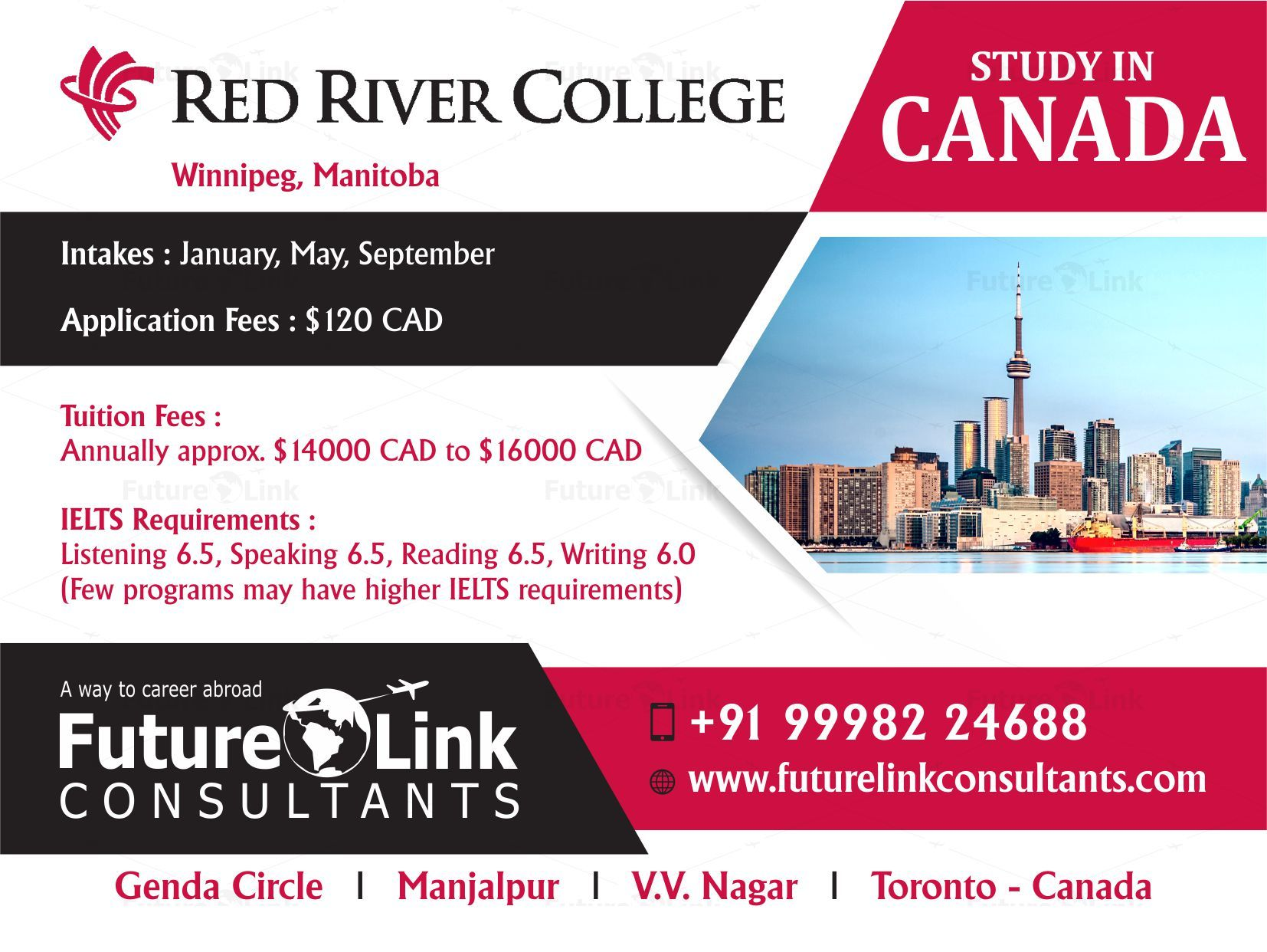 Study in Canada at Red River College and let your dreams