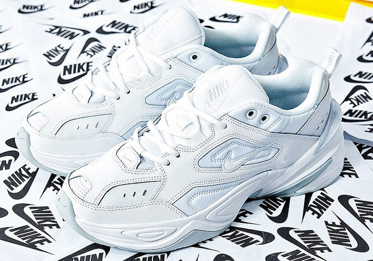0ddfe00b3fe897 Nike M2K Tekno White Pure Platinum AO3108-100. Find this Pin and more on  shoes ...