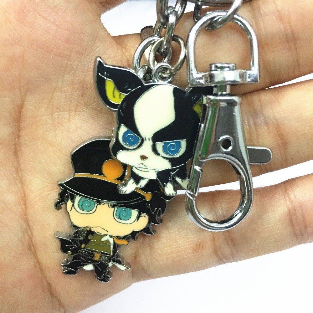 JoJo/'s Bizarre Adventure Iggy Key Chain Japan