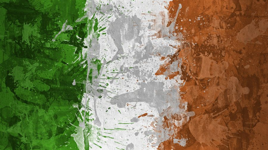 Irish Flag Wallpaper By Magnaen On Deviantart Irish Flag