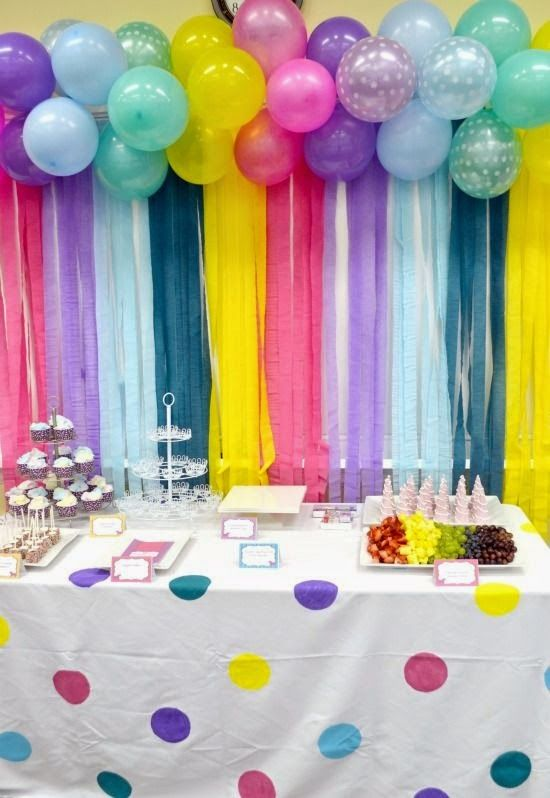 30 ideas de decoraci n con globos para cumplea os top - Ideas para decorar fiestas ...