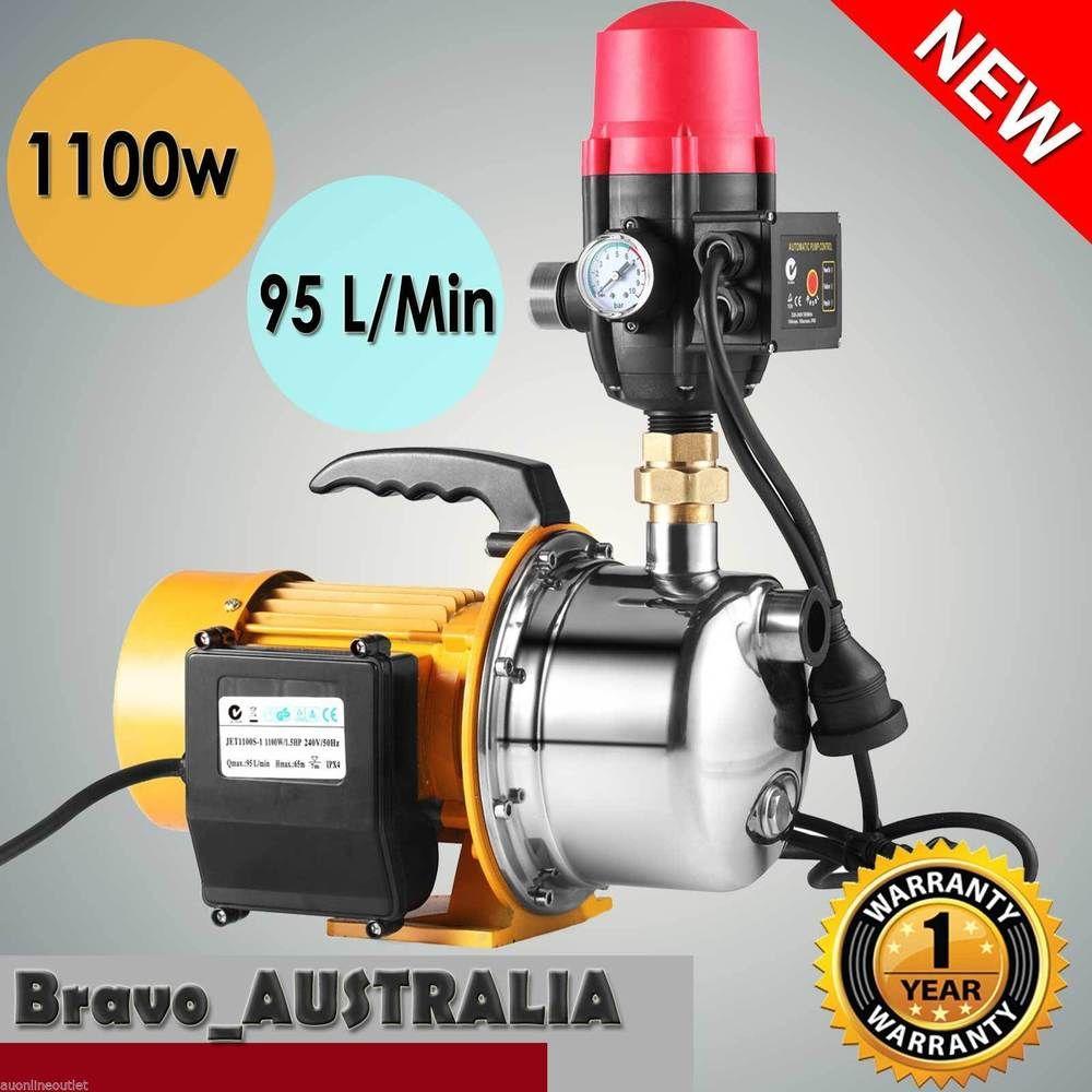 1.5hp Water Pump 1100w Garden Jet Pump with Pressure