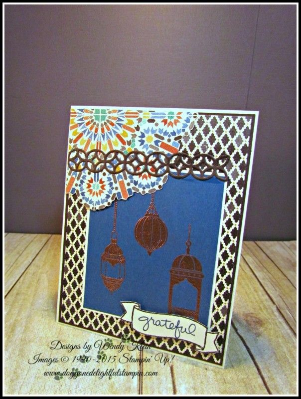 MOJO455 Moroccan Nights by kleinsong - Cards and Paper Crafts at Splitcoaststampers