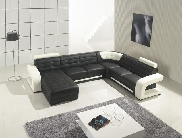 Elegant Awesome Modern Leather Sectional Sofas , Awesome Modern Leather Sectional  Sofas 50 For Living Room Sofa