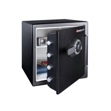 Sentrysafe Model Sfw123cs Combination Fire Safe Black Fire Safe