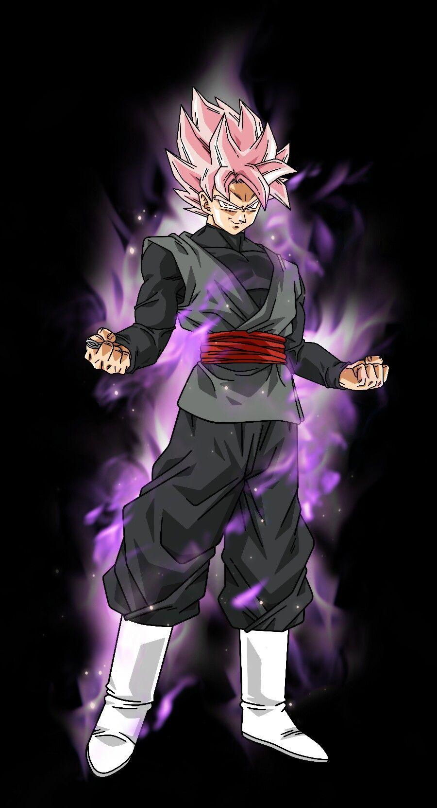 Black Goku Ssj Rose Dragon Ball Super Goku Dragon Ball Super Manga Goku Black