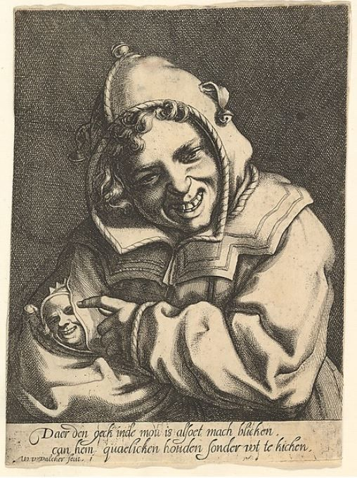 Laughing Fool, Werner van den Valckert, c. 1612 http://www.metmuseum.org/art/collection/search/400260?sortBy=Relevance&ft=fool&offset=0&rpp=20&pos=1
