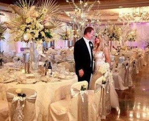 Decoracion para una boda de 50 aniversario reception and for Decoracion 40 aniversario de bodas