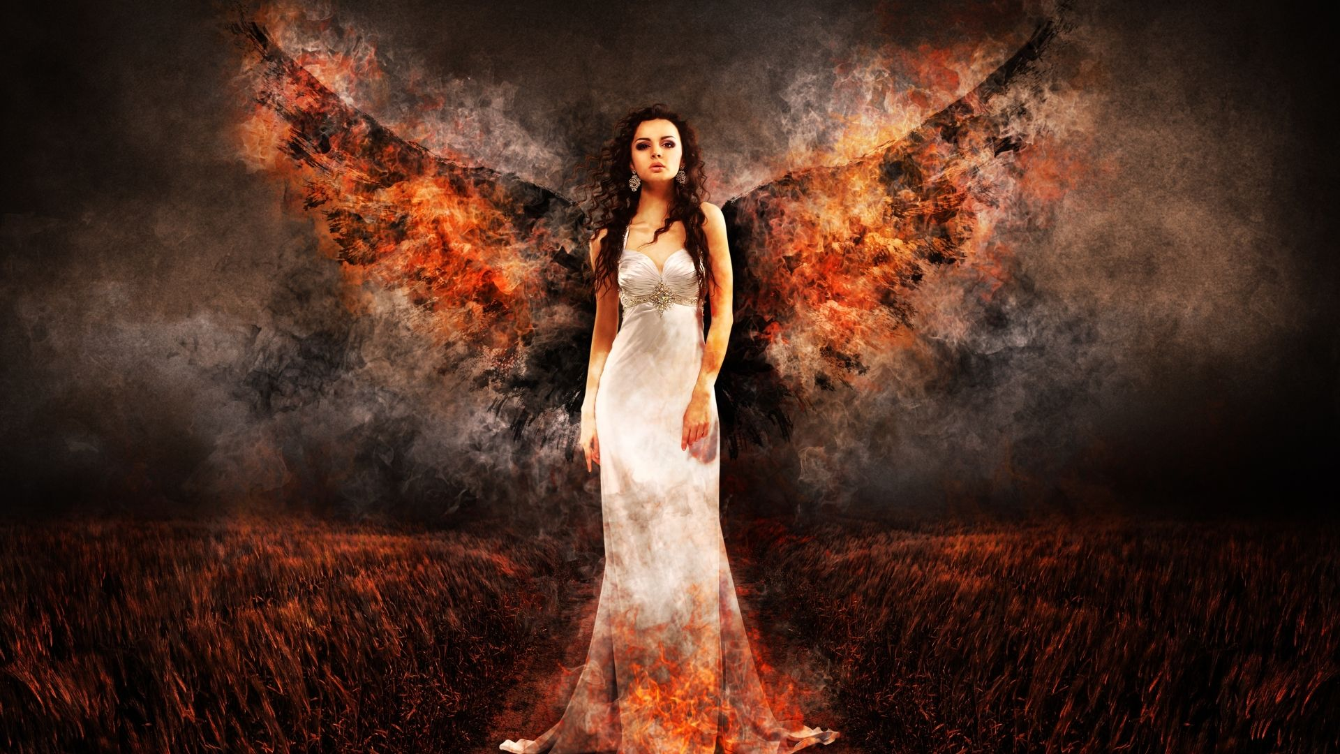 Wallpaper Of Angel Fire Wings Angel Pictures Angel Angel Fire
