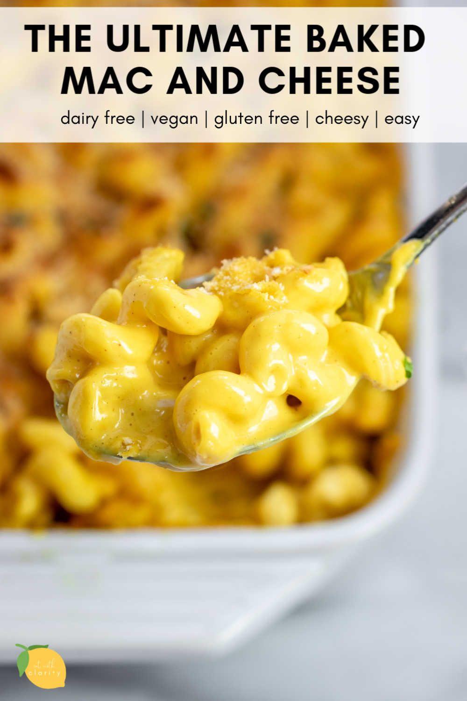 The Ultimate Baked Vegan Mac And Cheese Recipe Vegan Mac