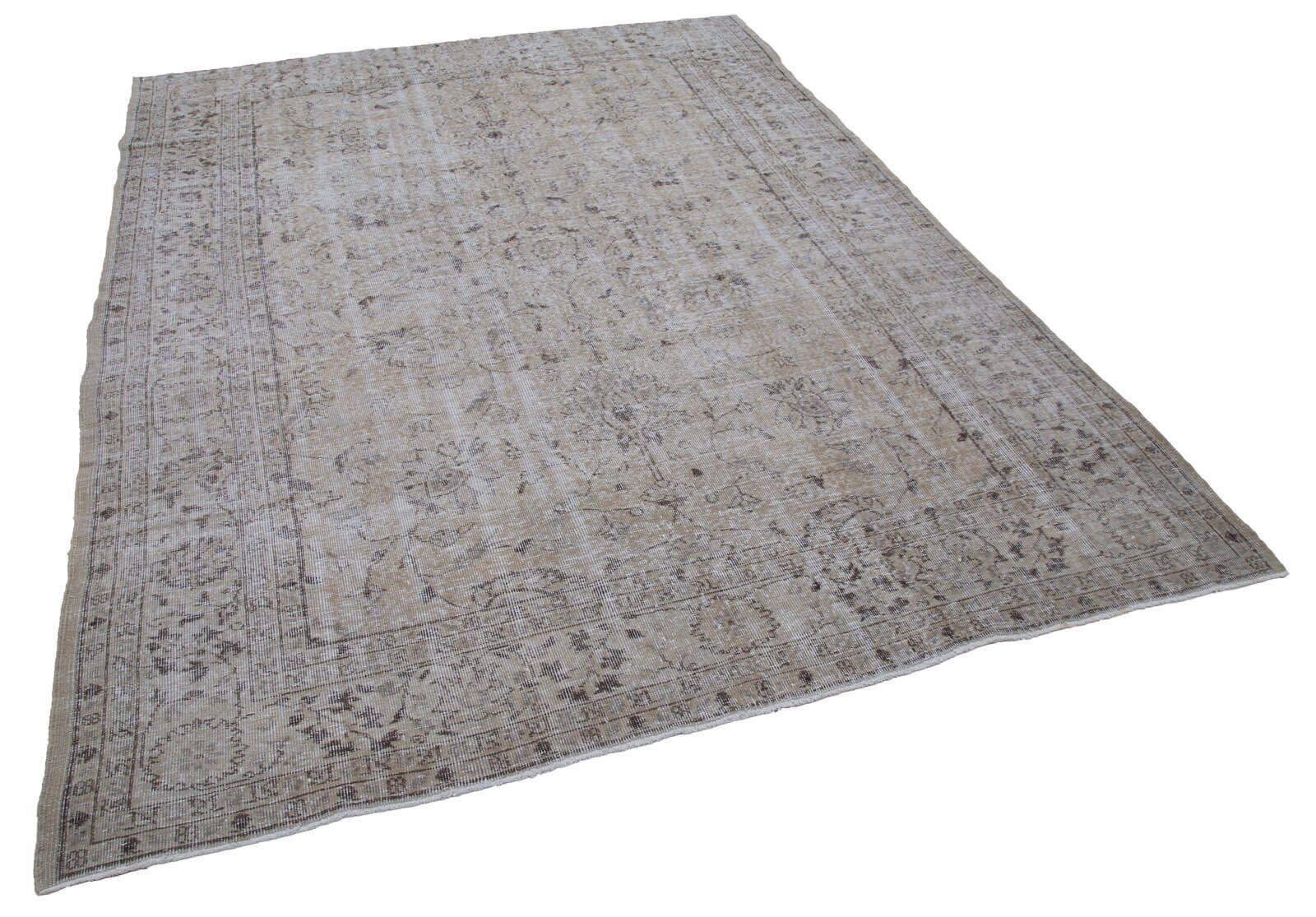 7x9 Vintage Rug Turkish Handmade Contemporary Wool Area Rug