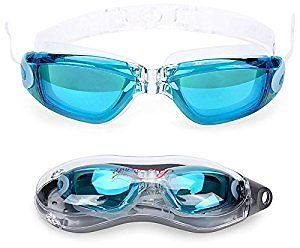 59a14fc1f11 Baen Sendi Swimming Goggles with Siamese Ear Plugs - UV Protection Anti Fog  - Best Adult