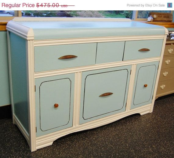 SALE Art Deco Waterfall Style Dining Buffet By LakenessRoad