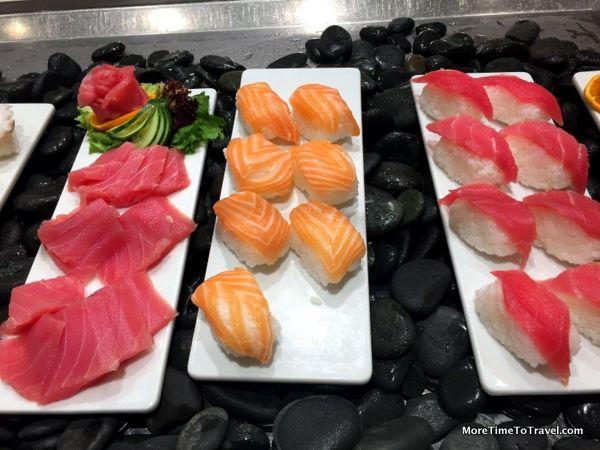 Very Fresh Sushi And Sashimi At The World Cafe On The Viking Star Viking Ocean Cruise Ocean Cruise Fresh Sushi