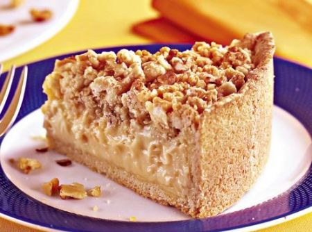 Torta de Farofa Crocante