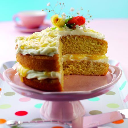 Recipe For Rhubarb Cake Makes Own Frosting