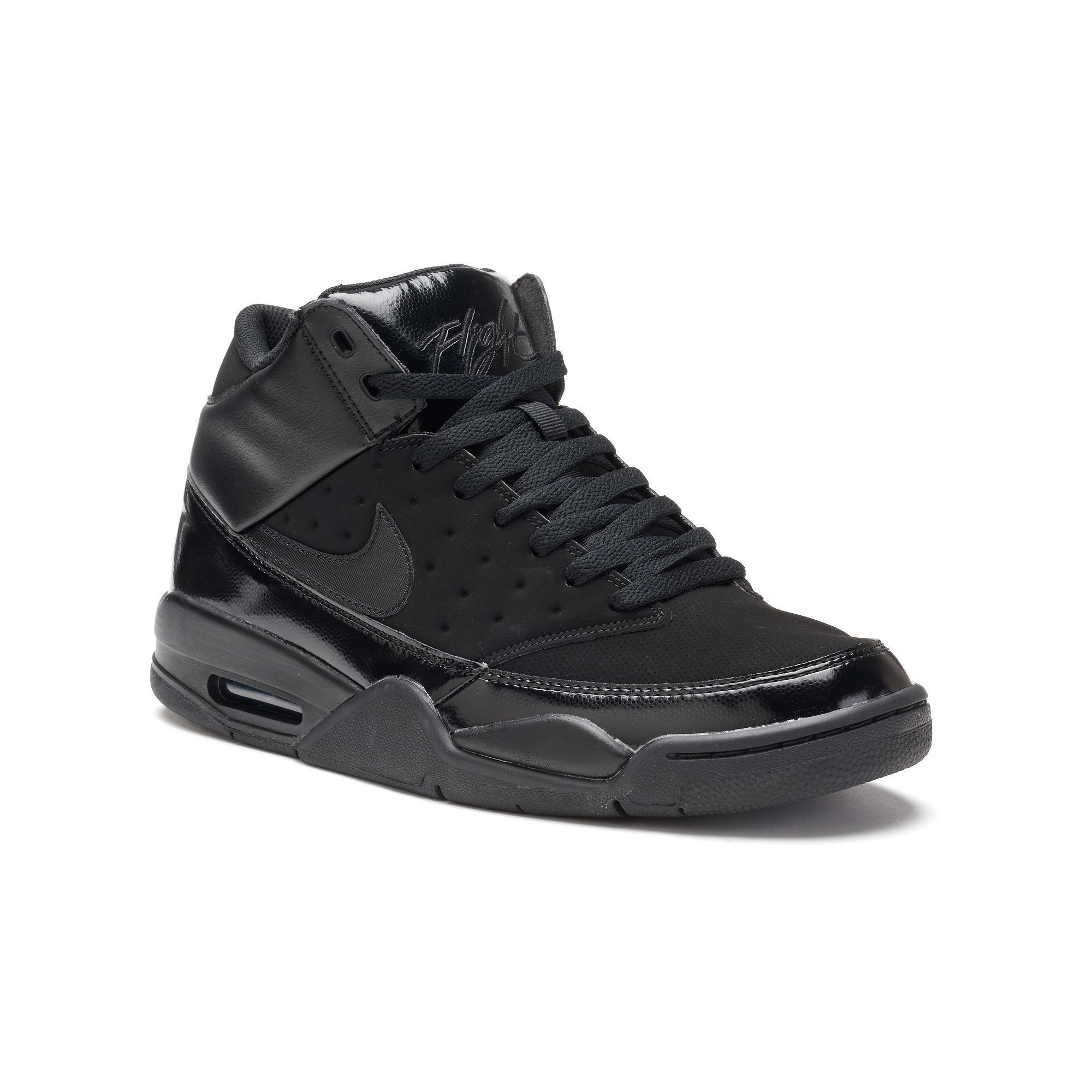 latest most popular top quality Nike Air Flight Classic Men's Basketball Shoes | Mens grey shoes ...