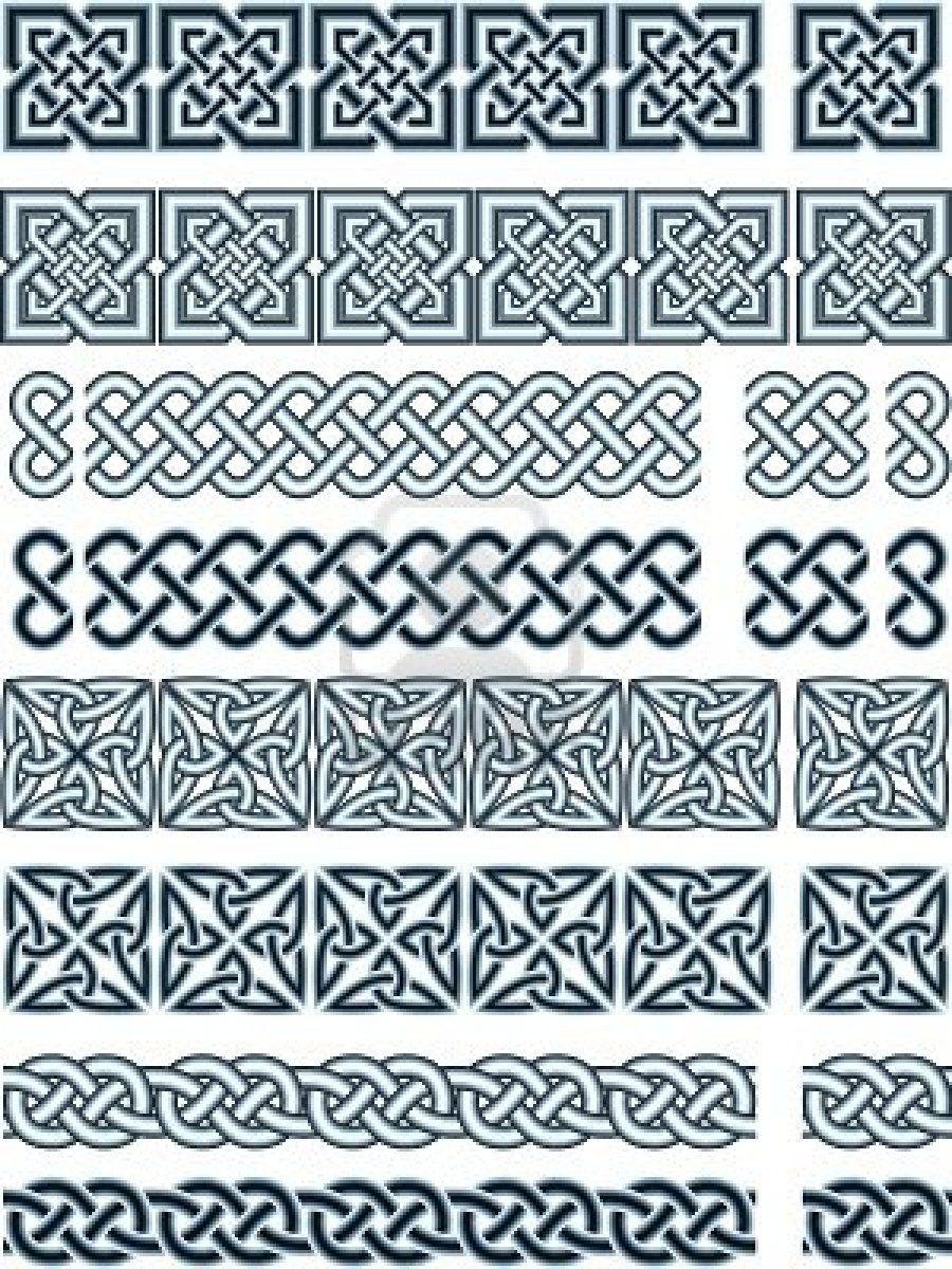 Elements Of Design In Celtic Style Celtic Patterns Celtic Knot Designs Celtic Designs