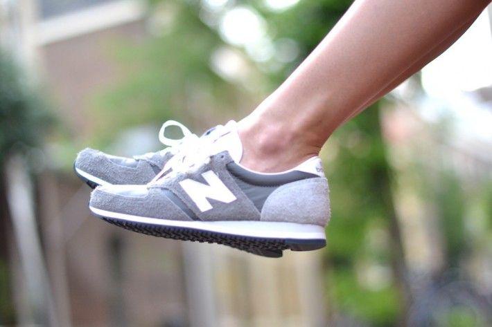 Grey new balance 420 sneakers